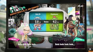 Splatoon 2 Splatfest Sci-Fi VS Fantasy Results!