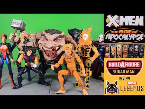 """Marvel Legends X-Men 6/""""Figure Age of Apocalypse Sugar Man Set 7 BAF IN STOCK"""