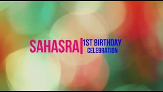 Sahasra birthday