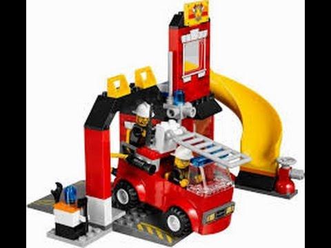 LEGO Juniors Juguete de Bomberos Lego Juguetes Para Nios  YouTube