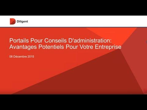 La technologie de portail pour Conseils d'Administration: Les avantages du numérique