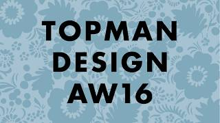 Topman Design AW16 Show | London Collections Men