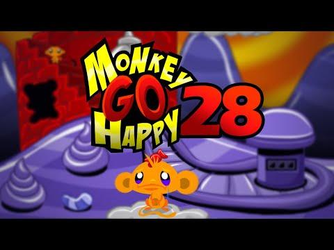 """Игра """"Счастливая Обезьянка 28"""" (Monkey GO Happy 28) - прохождение"""