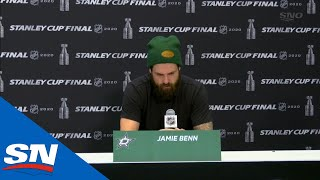 Jamie Benn At A Loss For Words After Dallas Stars' Playoff Run Comes To An End