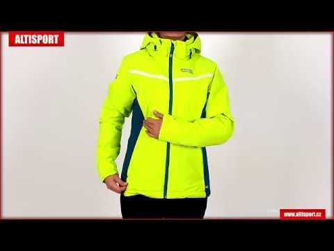 dámská lyžařská bunda nordblanc petite nbwjl6419 jasně zelená - YouTube 8adf929115
