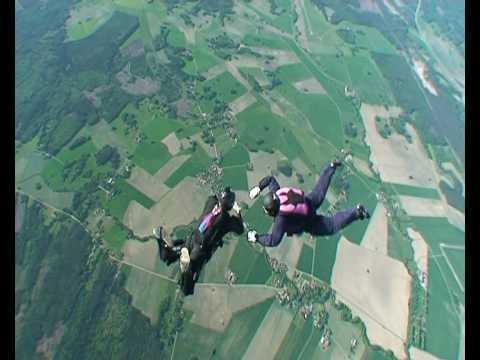 5 Terrifying Skydiving Accidents Caught on Camera - YouTube