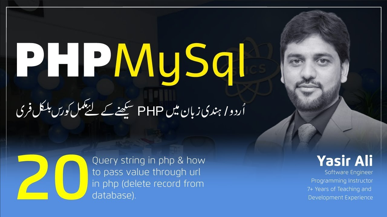 Query string in php & how to pass value through url in php (delete record from database)