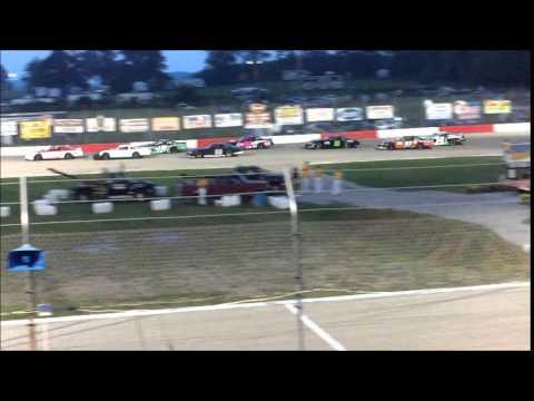 Late Model Heat Race # 1 - 8.29.15 - Jefferson Speedway