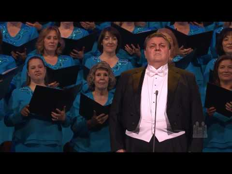 "Stanford Olsen sings ""The Holy City"" with the Mormon Tabernacle Choir"