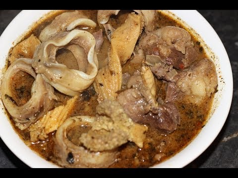 how to cook nigear dealt owoh soup