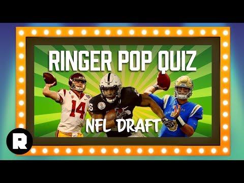 NFL Draft | Ringer Pop Quiz | The Ringer