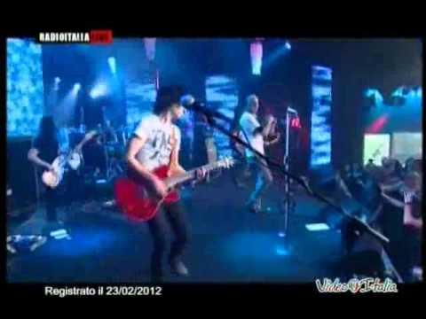 Negrita - Radio Conga - Live Video Italia - 23/02/2012