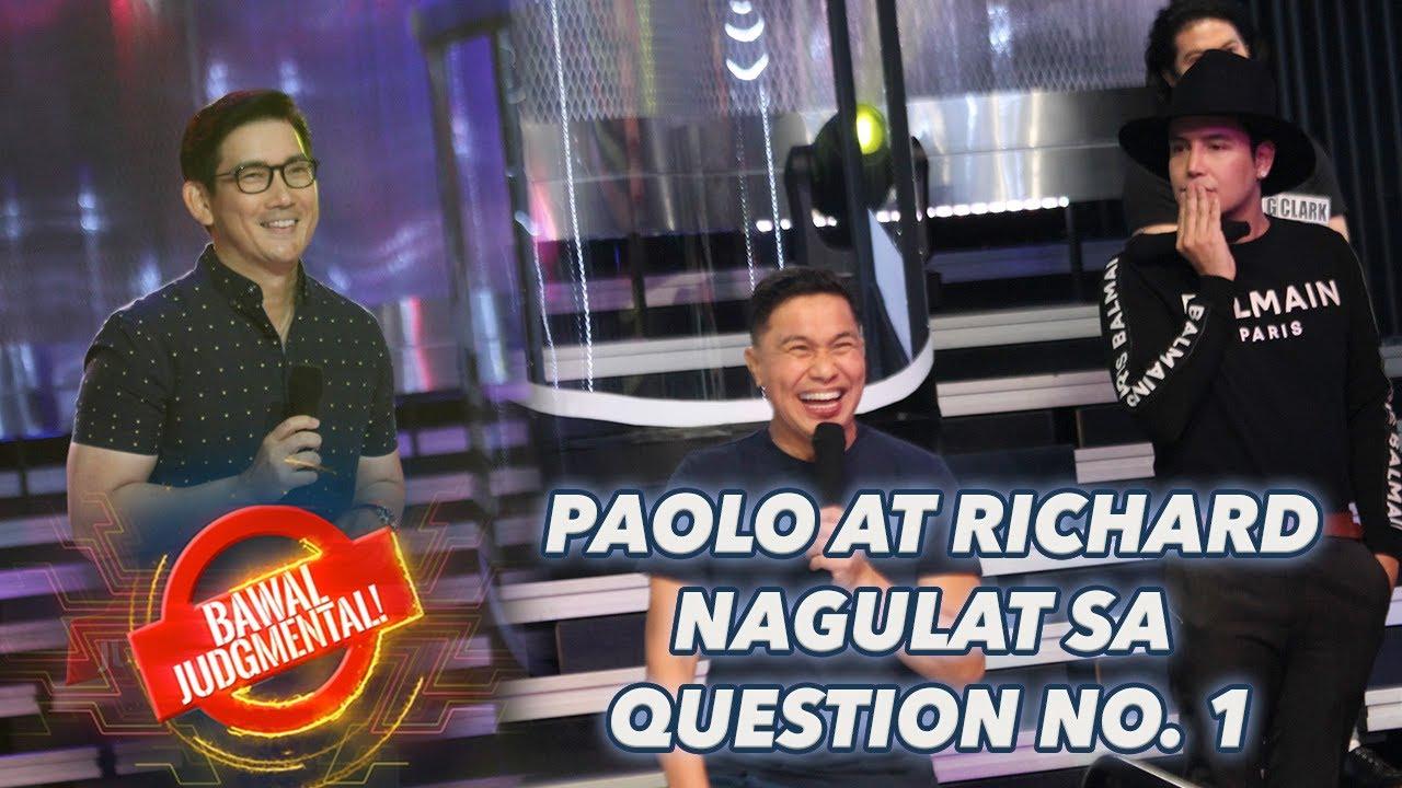 PAOLO AT RICHARD NAGULAT SA QUESTION NO. 1 | Bawal Judgmental | July 11, 2020