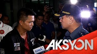 NCRPO Chief Eleazar, nanggalaiti nang makaharap ang isa umanong kotong cop sa Marikina