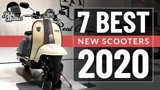 Top 7 New Scooters 2020! The best new scooters from Motorcycle Live 2019!