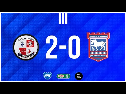 Crawley Town Ipswich Goals And Highlights