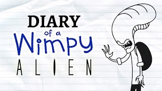 Video Diary of a Wimpy Alien (Wimpy Kid / Alien Parody) download MP3, 3GP, MP4, WEBM, AVI, FLV Juli 2018