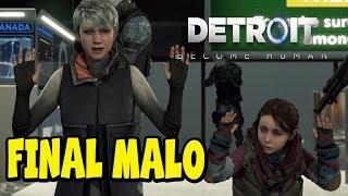 Download Video Detroit Become Human - Final Malo - Kara, Alice y Luther mueren en la frontera - Español Latino MP3 3GP MP4