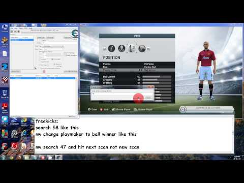 Fifa 14 Virtual pro, pro career hack cheat engine october 2013