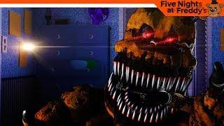 5 НОЧЬ - ЗОЛОТОЙ ФРЕДДИ 🐻 ФНАФ 4 - Five Nights at Freddy's 4 (FNAF) Прохождение на русском