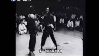 How great Bruce lee 【李小龙】有多厉害?与【拳王阿里】比赛、实战格斗、震撼视频