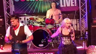 """""""Material Girl - Madonna"""" Cover performed LIVE by """"CountDown 80s"""" - 2018"""