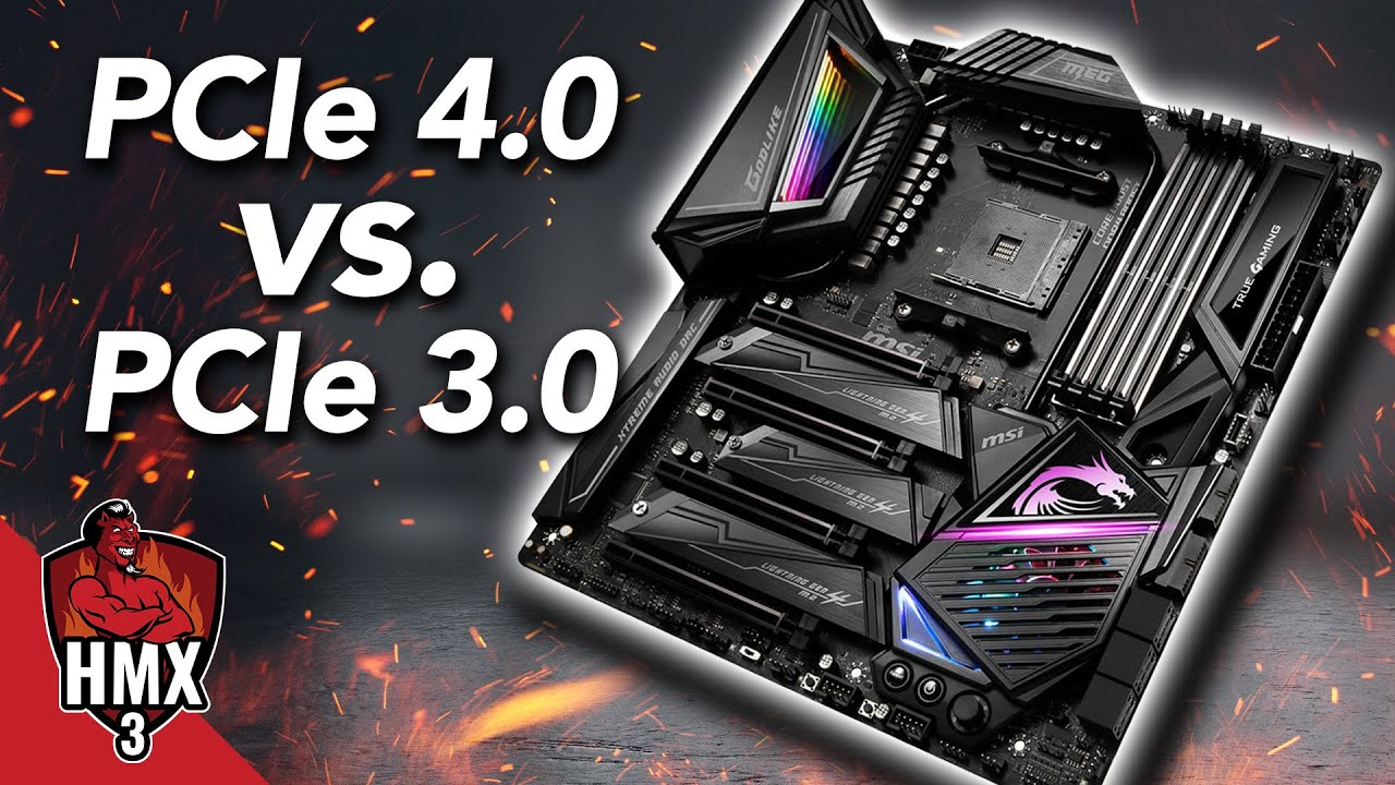 PCIe 4.0 vs. 3.0: Gaming- & SSD-Test mit dem HMX3-Mainboard MSI MEG X570 Godlike