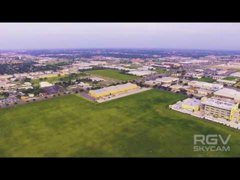 JACKSON RD, MCALLEN TX from RGV SKYCAM by DRONE 4k video Fly with us!