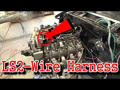 LS2 Engine SWAP | Part 6 | Installing The Wire Harness