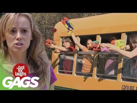 Public Transportation Pranks - Best Of Just For Laughs Gags