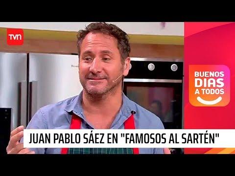 "Juan Pablo Sáez Se Somete Al Jurado De ""Famosos Al Sartén"" | Buenos Días A Todos"