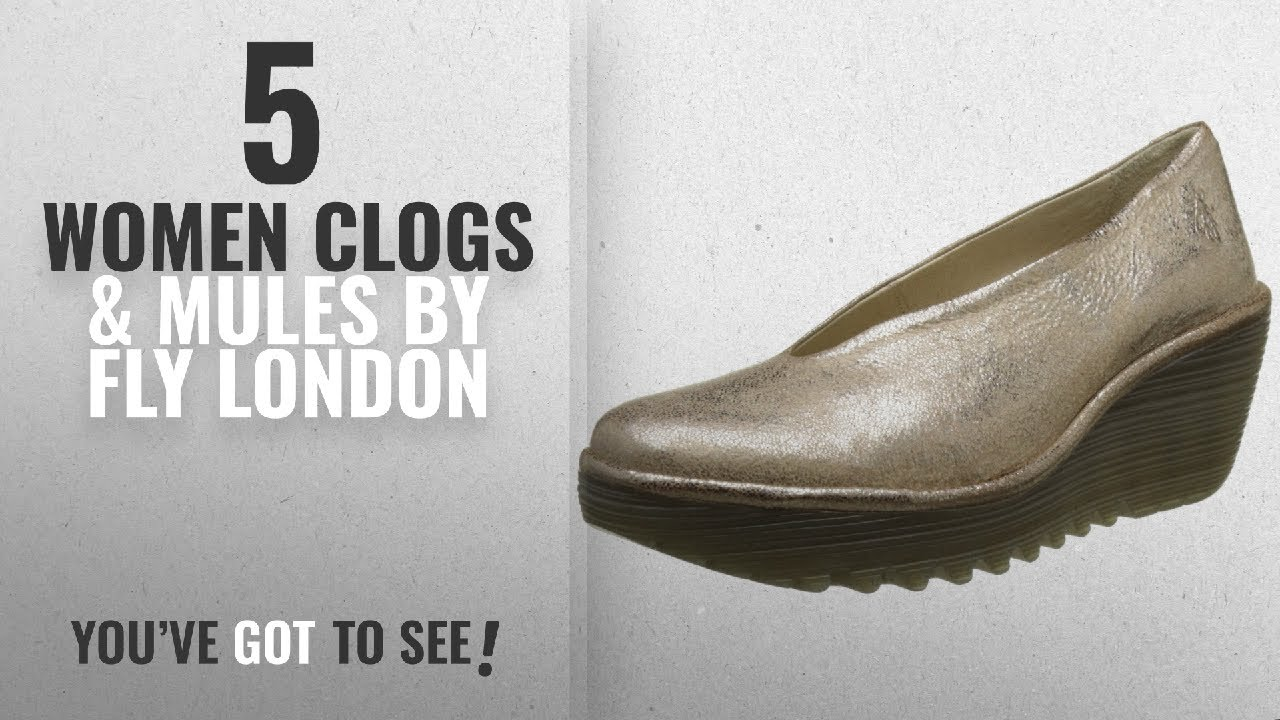 9c1875642698b Women Fly London Yaz Black Leather Womens Shoes Size 41 EU