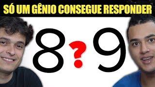 9 TESTE DE INTELIGÊNCIA - SÓ UM GÊNIO PODE RESOLVER ISSO