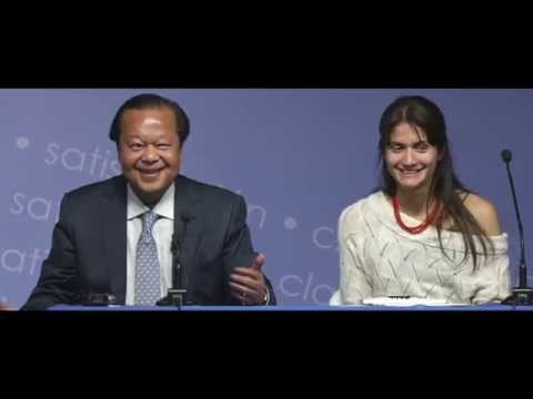 Prem Rawat in Ibarra, USA 2013 launch of The Peace Education Program in South America.