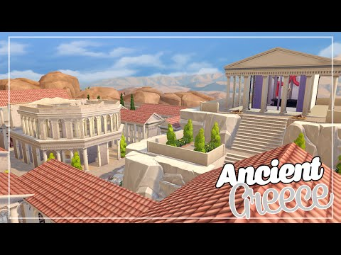 LOS SIMS 4 | HOUSE BUILD | ANCIENT GREECE