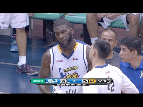 Johnson Gets Ejected | PBA Commissioner's Cup 2016