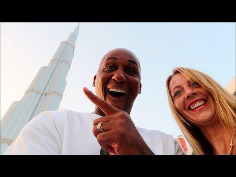 Burj Khalifa Fountain View In The World's Tallest Building Dubai