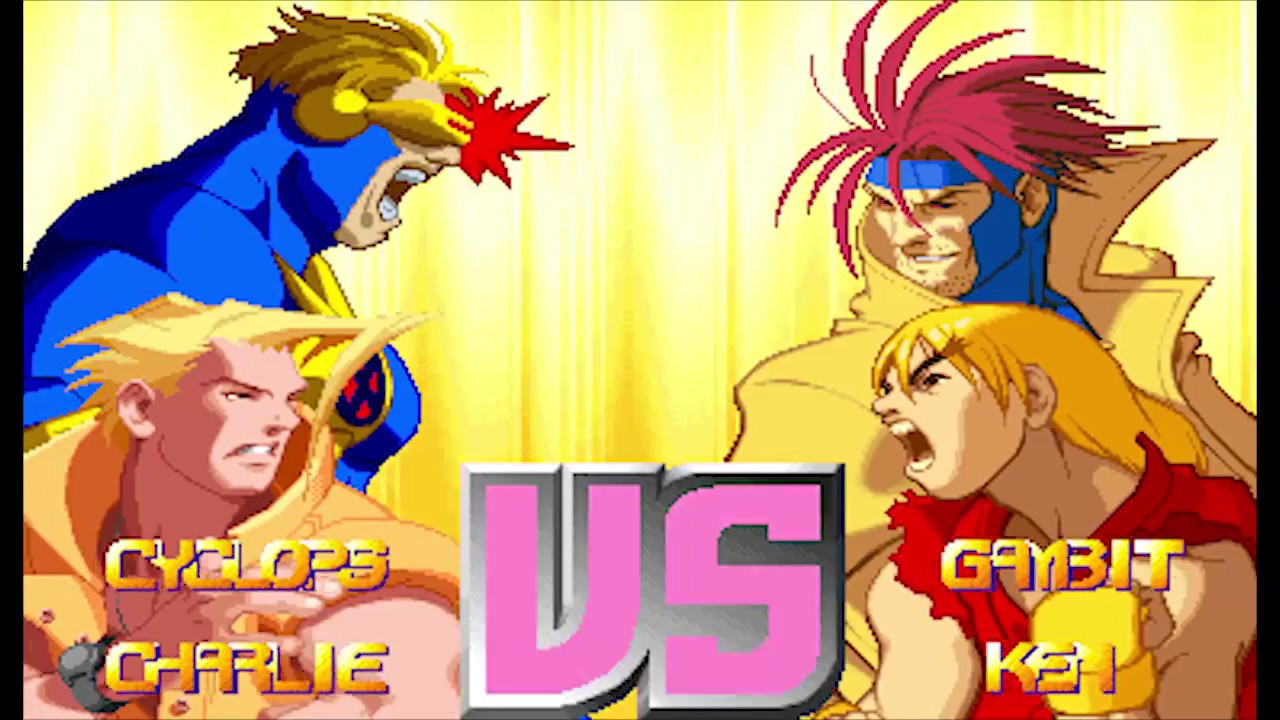 Charlie Street Fighter Vs X Men