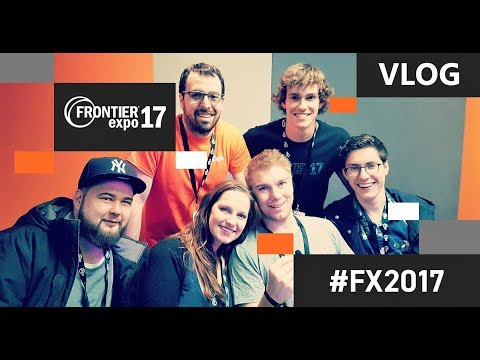 Frontier Expo 2017 Vlog with Silvarret, Rudi Rennkamel, Fluxtrance, Strictoaster, Geekism and more!