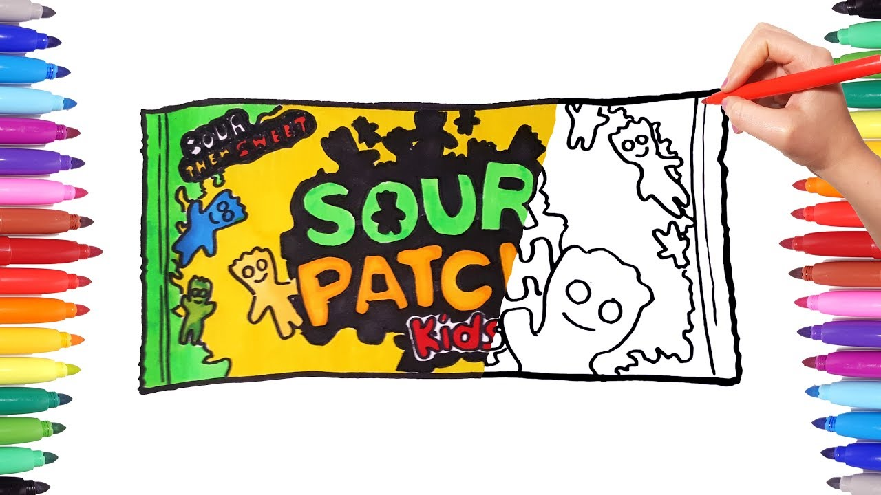 Sour Patch Kids Drawing