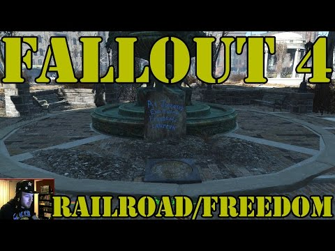 Fallout 4  - How To Find The Railroad Freedom Trail