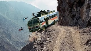Фото Most Dangerous Mountain Roads  N The World Heavy Equipment Truck Skill Driving 2019 Dangerous Trip