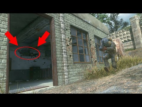 HE WAS SO CONFIDENT ABOUT HIS SPOT!!!! HIDE N' SEEK ON COD 4 REMASTERED!