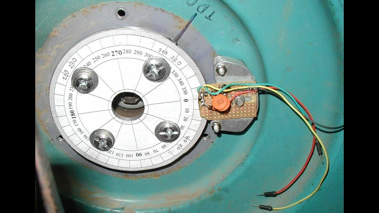 Arduino Onan Ignition Controller NewMagnetWheel Reading Test