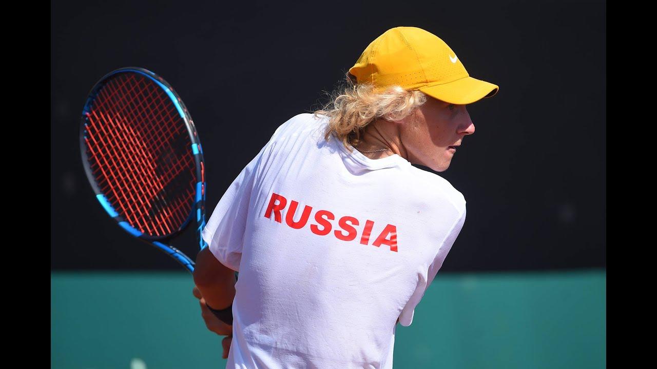 Junior Davis Cup by BNP Paribas final - Russia v France