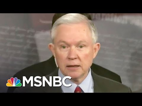 Resignation Watch: Donald Trump Lashes Jeff Sessions, Justice Officials | Rachel Maddow | MSNBC