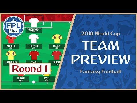 ROUND 1: TEAM SELECTION  Play the 'Bench Boost' Chip?  WORLD CUP 2018 tasy Football P