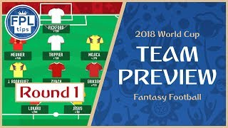 ROUND 1: TEAM SELECTION | Play the 'Bench Boost' Chip? | WORLD CUP 2018 Fantasy Football Preview