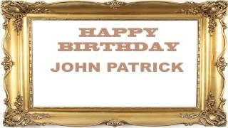 JohnPatrick   Birthday Postcards & Postales - Happy Birthday