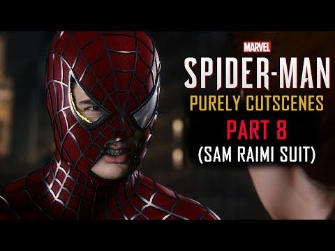 Spider-Man PS4 Part 8: Sam Raimi Suit(PURELY CUTSCENES)(ENDING)